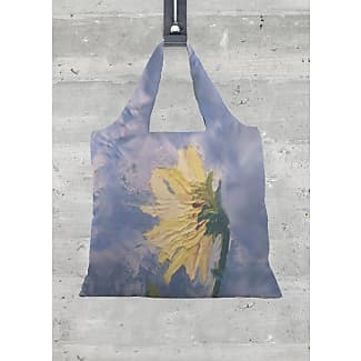Foldaway Tote - Yellow Flower by VIDA VIDA