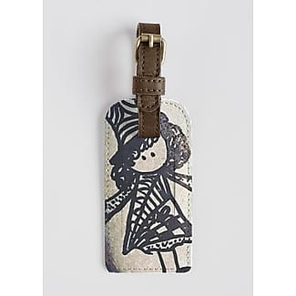 VIDA Leather Accent Tag - POLAR BEAR by VIDA