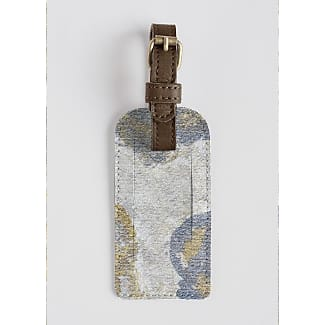 Leather Accent Tag - Floral Accent Tag by VIDA VIDA