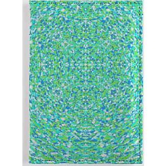 Leather Passport Case - grassy green by VIDA VIDA