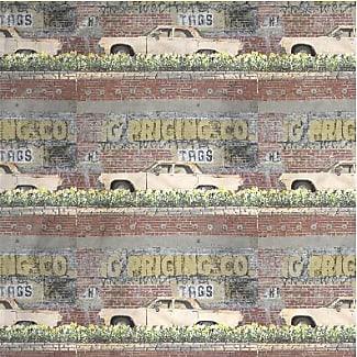 VIDA Foldaway Tote - Brick wall 2 by VIDA