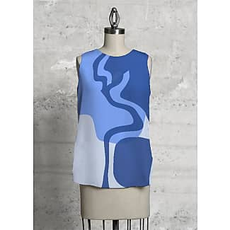 Sleeveless Top - healing tranquility by VIDA VIDA