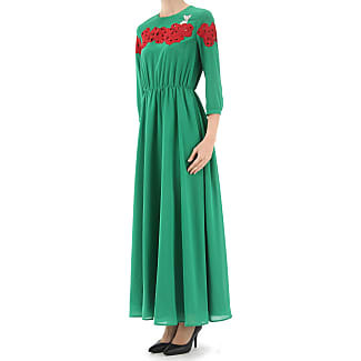 Dress for Women, Evening Cocktail Party On Sale, Green, Cotton, 2017, 10 12 14 8 Vivetta