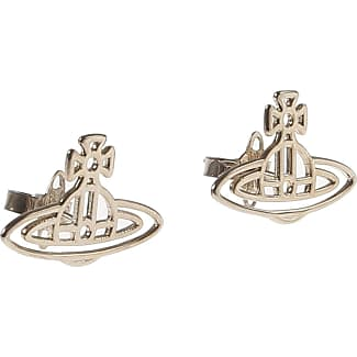 Vivienne Westwood Earrings for Women, Silver, Stainless Steel, 2017, One Size