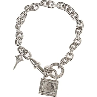 Vivienne Westwood Bracelet for Women, Gold, Pewter, 2017, One Size