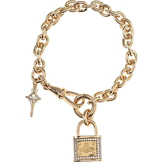 Vivienne Westwood Bracelet for Women, Gold, Brass, 2017, One Size