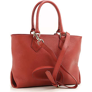 Tote Bag, Red, Leather, 2017, one size Vivienne Westwood