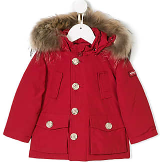 Woolrich Rot Kinder