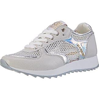 041291, Zapatillas para Mujer, Plateado (Plata), 38 EU BASS3D