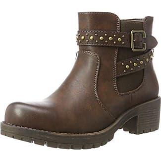 063868, Desert Boots Femme - Marron - Marron (Taupe)Xti