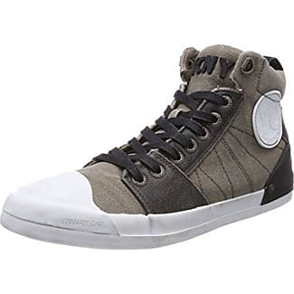 Sly M, Baskets Homme, Gris (Light Grey Light Grey), 42 EUYellow Cab