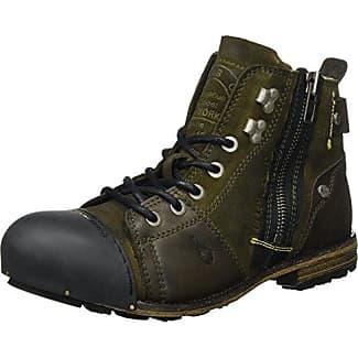 Zapatos verdes estilo militar Yellow Cab para hombre xHZzdfwGU