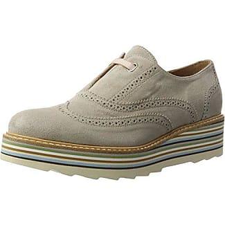 Zinda 2424 - Zapatos para Mujer, Color Rojo (Bordo), Talla 37 EU