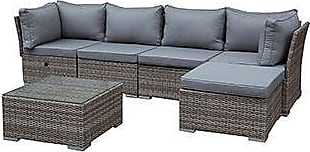 Finest Greemotion Toronto Teilig Aus Polyrattan In Braun With Gartenmbel Set  Lounge