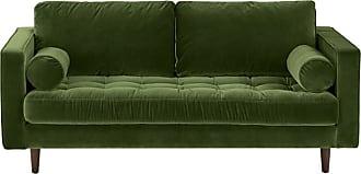 Sofa Samt Grün 2 sitzer sofas in grün jetzt bis zu 20 stylight