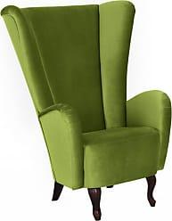 ohrensessel wohnzimmer in gr n 12 produkte sale ab 199 00 stylight. Black Bedroom Furniture Sets. Home Design Ideas