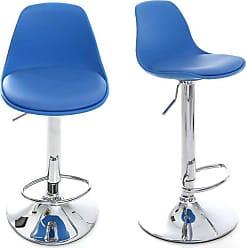 chaises en bleu 196 produits jusqu 39 35 stylight. Black Bedroom Furniture Sets. Home Design Ideas