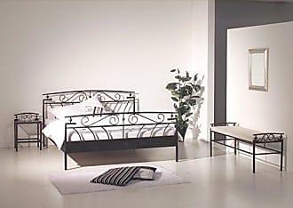 doppelbetten in schwarz jetzt bis zu 40 stylight. Black Bedroom Furniture Sets. Home Design Ideas