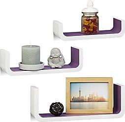 wandregale in wei 156 produkte sale bis zu 35 stylight. Black Bedroom Furniture Sets. Home Design Ideas