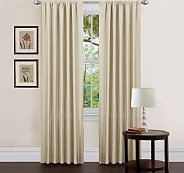 blickdichte gardinen in wei 410 produkte sale bis zu 42 stylight. Black Bedroom Furniture Sets. Home Design Ideas