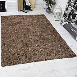 hochflor teppiche in braun jetzt ab 11 96 stylight. Black Bedroom Furniture Sets. Home Design Ideas