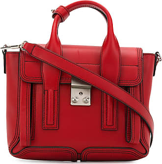 Mini Pashli Satchel Tasche aus hell fuchsia geprägtem Kuhleder 3.1 Phillip Lim 9qFxSsBDR