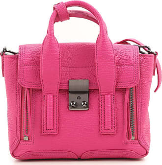 Shoulder Bag for Women On Sale, Hot Pink, Patent Leather, 2017, one size 3.1 Phillip Lim