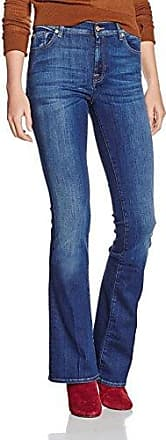 CHARLIZE, Jeans Femme, Bleu (L.A. Mid Indigo), W28/L35 (Taille fabricant: 28)7 For All Mankind