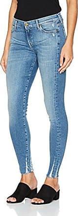 7 For All Mankind Vaqueros slim para mujer, talla W25/L34 (Herstellergröße: 25) - talla alemana, color azul (toronto light)
