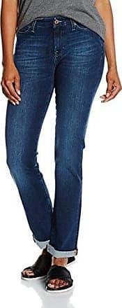 Kimmie Straight, Jeans Femme, Bleu (Bi-Stretch Mid 0BJ), 24 W/30 L7 For All Mankind