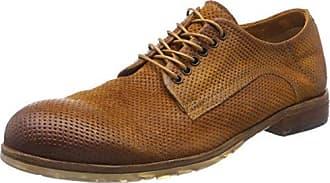 A.S.98 Joke, Zapatos de Cordones Oxford para Hombre, Verde Militar, 42 EU