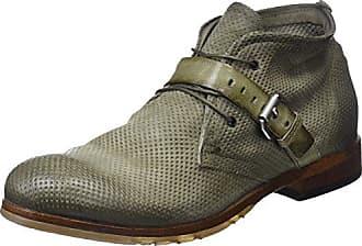 A.S.98 Joke, Zapatos de Cordones Oxford para Hombre, Verde Militar, 45 EU