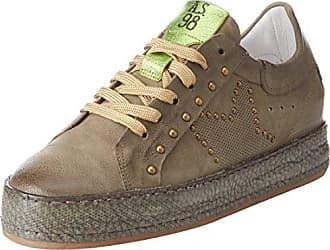 Chaussures De Sport As98 Couche D'or / Gris Clair / Couleur / Blanc Mixtes 79EB4