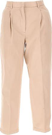 Pants for Women On Sale, Light Rose, Cotton, 2017, 34 Acne Studios