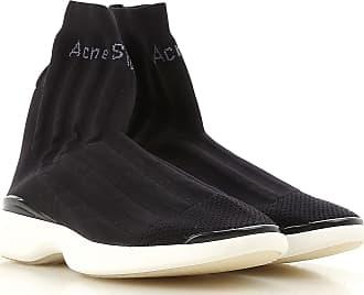 Sneaker für Damen, Tennisschuh, Turnschuh Günstig im Sale, Grauweiß, Leder, 2017, 40 Acne Studios
