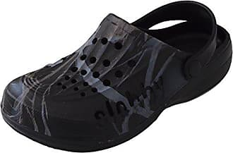 ACO Damen Clogs Warm gefüttert, Hausschuhe Pantoletten Pantoffeln Gr. 36-41 Blau,Schwarz,Pink (37, Pink (Rosa))