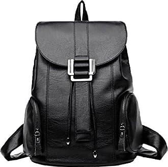 Frauen Aus Echtem Leder Rucksack Daypack Mode Reisetasche Lässig Flut Täglichen Rucksack Weichem Leder Handtaschen,RoseRed-OneSize Addora