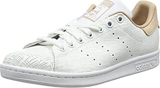 adidas Stan Smith, Baskets Basses Femme, Blanc (Off White/Off White/St Pale Nude), 40 2/3 EU