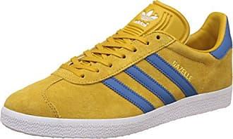 adidas Herren Sneaker Grau, Gelb - Größe: 40 2/3 EU