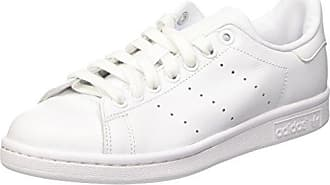 adidas Originals Stan Smith, Sneakers Basses Homme, Blanc (Running White FTW/Collegiate Red), 49 1/3 EU (13.5 UK)