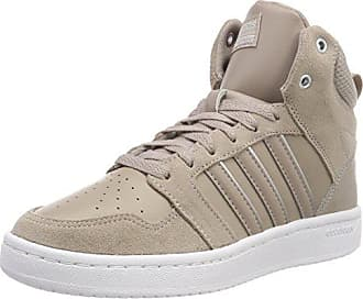 adidas CF Super Hoops Mid, Chaussures de Gymnastique Homme, Marron (Light Brown/Light Brown/Simple Brown Light Brown/Light Brown/Simple Brown), 42 EU