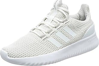 adidas Cloudfoam Swift Racer, Chaussures de Running Homme, Blanc (Footwear White/Rose Crystal White/Carbon 0), 44 2/3 EU