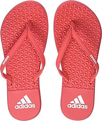 adidas Damen Eezay Dots Zehentrenner, Mehrfarbig (Ftwbla/Negbas/Negbas), 38 EU