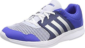 adidas Essential Fun II W, Chaussures de Gymnastique Femme, Bleu (Hi-Res Blue S18/Silver Met./Noble Indigo S18 Hi-Res Blue S18/Silver Met./Noble Indigo S18), 38 2/3 EU