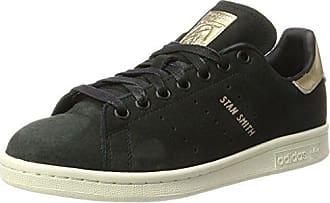adidas Jungen Superstar J Sneaker, Schwarz (Cblack/Blue/Ftwwht), 37 1/3 EU