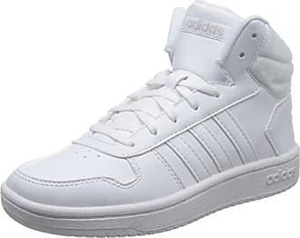 Adidas CF Daily QT Mid W, Zapatillas de Deporte para Mujer, Blanco (Ftwbla/Ftwbla/Plamat 000), 36 2/3 EU adidas
