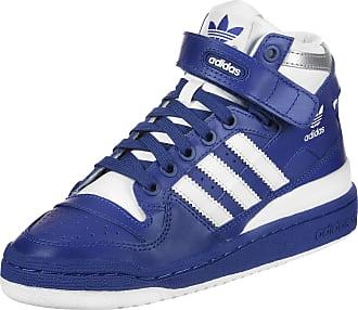 Adidas Forum Mid Chaussures Jw Baskets Hi Bleu Blanc Bleu Blanc EFejTWLAnN