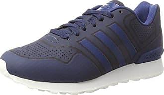 adidas 10k, Chaussures de Gymnastique Homme, Multicolore (Raw Steel S18/Ftwr White/Collegiate Navy Raw Steel S18/Ftwr White/Collegiate Navy), 40 2/3 EU