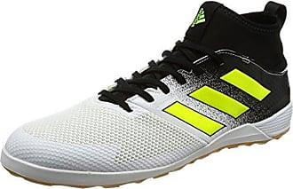 adidas Ace Tango 17.2 in J, Chaussures de Football Entrainement Garçon, Blanc (Footwear White/Footwear White/Core Black), 35.5 EU
