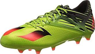 adidas Jungen Messi 15.4 FG J Fußballschuhe, Grün (Semi Solar Slime/Solar Red/Core Black), 37 1/3 EU